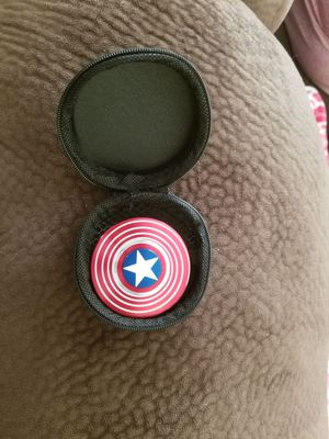 Captain America fidget spinner premium aluminum for Sale in River Edge, NJ