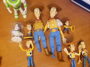 Disney's toy story woody and buzz for Sale in Riverside, CA