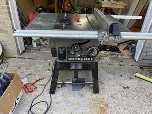 Porter cable table saw for Sale in Houston, TX
