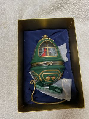 Collectible Christmas Holiday Egg Antique for Sale in Tampa, FL