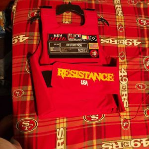 Red Airsoft Vest for Sale in Stockton, CA