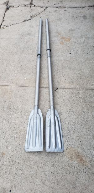 Aluminum boat paddles for Sale in Fullerton, CA