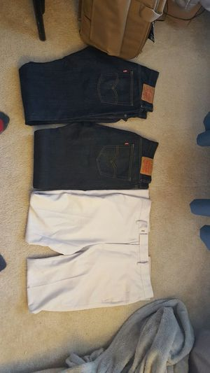 2 pairs of levis denim for Sale in Herndon, VA