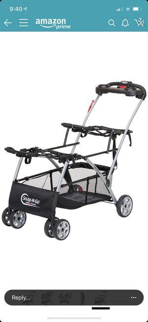 Snap N Go Double Infant Stroller for Sale in Fresno, CA