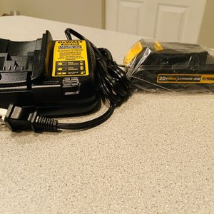Dewalt Charger And Battery Brand New for Sale in Lombard, IL