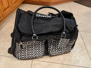 New Luggage Duffle Bag with rollers (cost $50) for Sale in St. Petersburg, FL