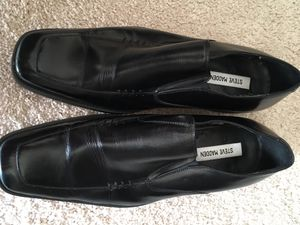 Men's Leather dress shoes Steve Maden Size 9.5 for Sale in Bloomingdale, IL