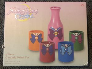 Sailor Moon Ceramic Drink Set for Sale in Ceres, CA