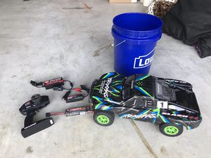 Traxxas Slash 4x4 Off-Road 1/10 Scale Short Course RC Trophy Truck for Sale in Houston, TX