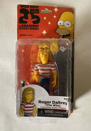 The Simpsons: Roger Daltrey Collectible Action Figure for Sale in La Puente, CA