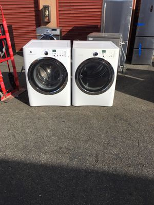 Washer and gas dryer Electrolux big capacity set for Sale in San Leandro, CA