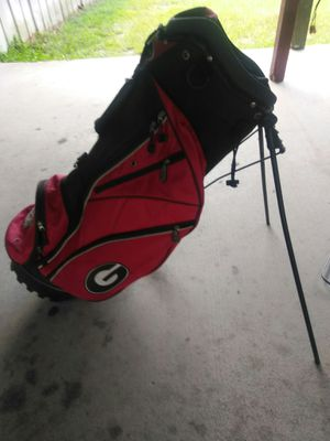 Georgia bulldogs golf bag for Sale in Savannah, GA