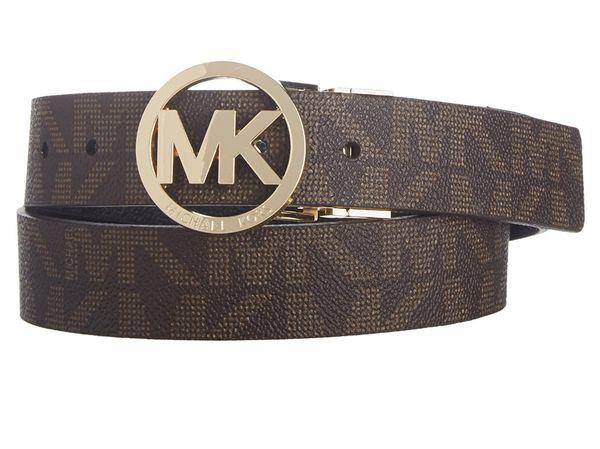 Michael Kors 170 Mk Signature Monogram Belt and Buckle Reversible