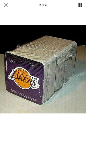 Pack of 125 Lakers Budweiser Beer bar coasters for Sale in Chino Hills, CA