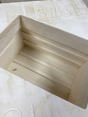 Ceramic mold crate shape box caste for Sale in Atlanta, GA
