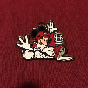 Disney St Louis Cardinals Mickey Mouse MLB Baseball Pin for Sale in Bartow, FL