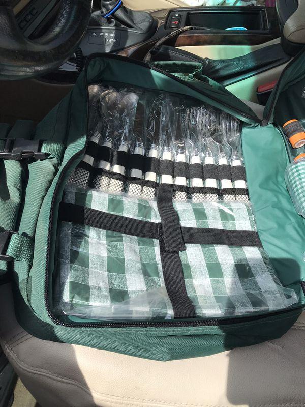 Backpack picnic set