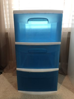 3 Drawer Storage Bin for Sale in Ashburn, VA