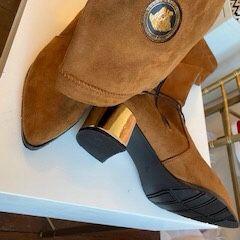 Brown Knee Designer High Boots for Sale in Alexandria, VA