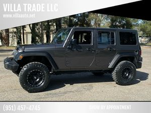 2017 Jeep Wrangler Unlimited for Sale in Lake Elsinore, CA
