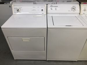 Set washer and dryer kenmore for Sale in Irving, TX