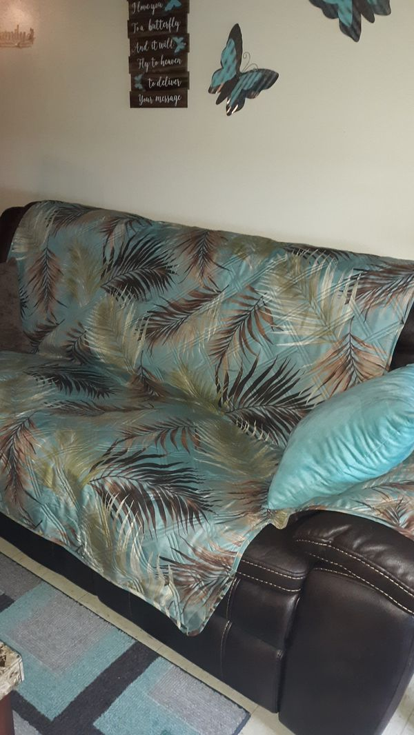 Couch and Loveseat covers $20 for set