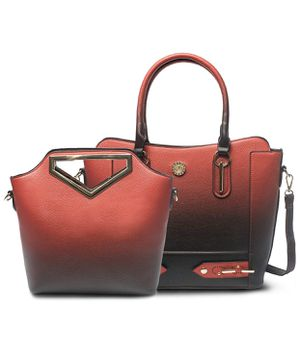 Set of Two Tone Vegan Leather Tote Shoulder Crossbody Bags for Sale in New Port Richey, FL