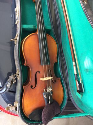 old kids size 1/4 size violin with case and bow for Sale in West Covina, CA