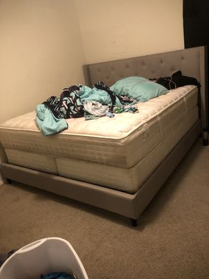 King size bed frame for Sale in Lawton, OK