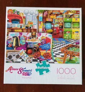 Aimee Stewart Collection Pixels & Pizza Puzzle 1000 pieces for Sale in VLG WELLINGTN, FL
