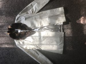 Genuine Leather Jacket withh Faux Fur collar for Sale in Fresno, CA