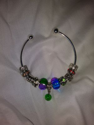 Handmade Cuff Ball Joint Charm Bracelet for Sale in Detroit, MI