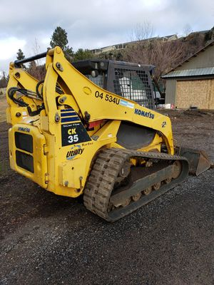 2007 Komatsu CK 35 Super Flow Skid Steer for Sale in Liberty Lake, WA