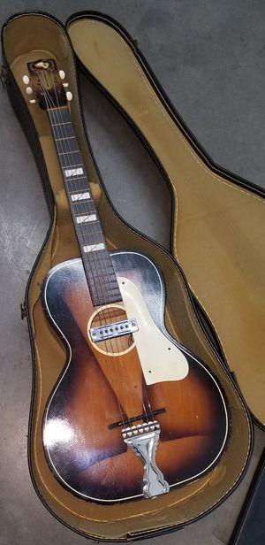 Vintage Acoustic Parlor Guitar - B and J Serenader 1950's for Sale in Los Angeles, CA