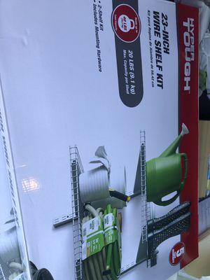 Metal shelving kit (2) for Sale in Stockton, CA