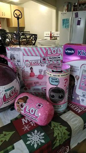 Lol bundle + a Vtech KidiBuzz for Sale in Fresno, CA
