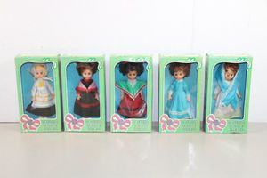 New antique 5pc Vintage Dolls Of The Nations rare set for Sale in Los Alamitos, CA