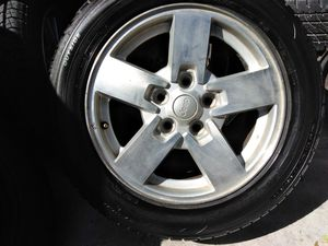 Set of four rims wheels n 235 55 17 of jeep grand Cherokee good condition for Sale in Las Vegas, NV