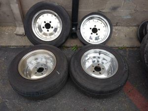 staggered 14 inch classic crager SST rims for Sale in Montebello, CA
