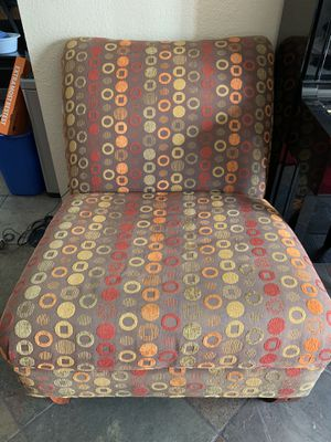 Armless Chair - Gently used for Sale in Fountain Valley, CA