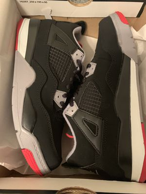 Jordan 4 bred size 1y 1,5 and 3 preschool for Sale in The Bronx, NY