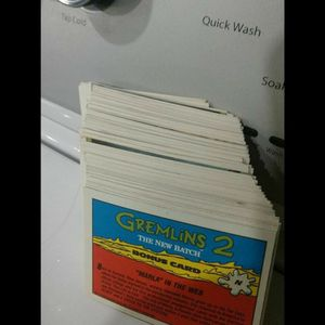 Collectible Gremlins cards , over 100 card for Sale in Newport, KY