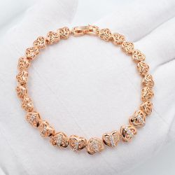 """18k Gold Filled Bracelet Bangle 7"""" Long Jewelry Many Designs Available for Sale in Burtonsville,  MD"""