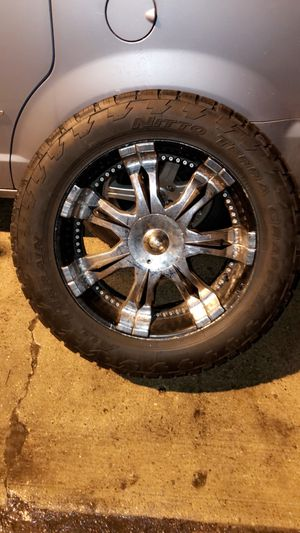 """22"""" Off-road tires with rim for Sale in Chicago, IL"""