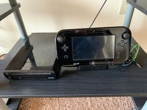 Nintendo Wii U 32 GB with console for Sale in Arlington Heights, IL