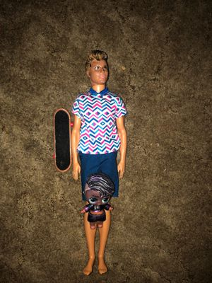 Ken doll and lol boy and skateboard for Sale in Gresham, OR