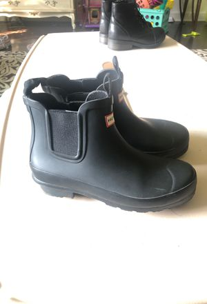 Hunter rain boots (short) for Sale in Downers Grove, IL