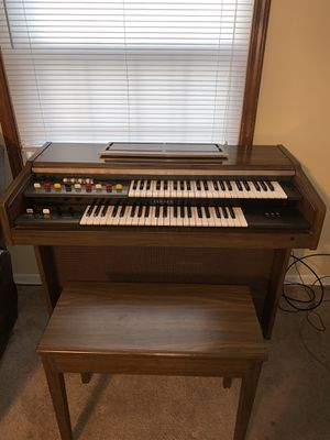 Yamaha Digital Piano home bundle with furniture stand and bench for Sale in Greeneville, TN