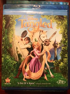 Disney Tangled Blu-Ray DVD Movie for Sale in Pinellas Park, FL