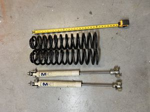 Jeep Cherokee XJ / MJ - Lift Kit - Rustys Coils and Pro Comp Shocks for Sale in Las Vegas, NV